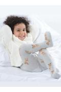 Safari Çocuk Külotlu Çorap  Desenli Külotlu Çorap